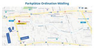 Parkplätze Ordination Mödling